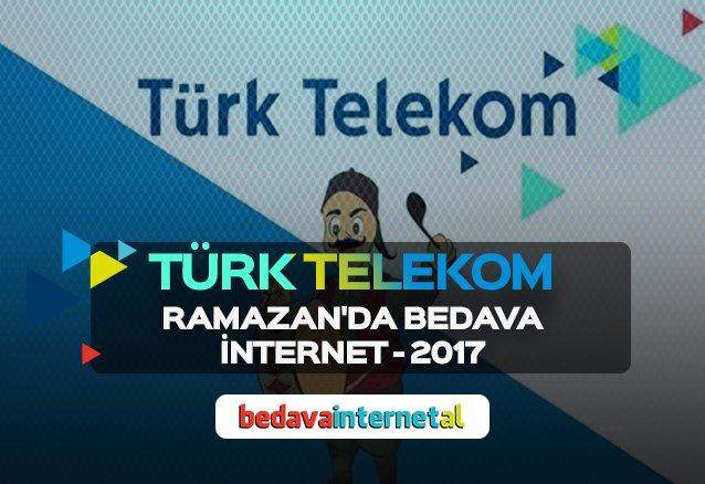 Türk Telekom Ramazan Bedava İnternet