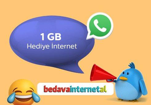 Türk Telekom 1GB Hediye İnternet