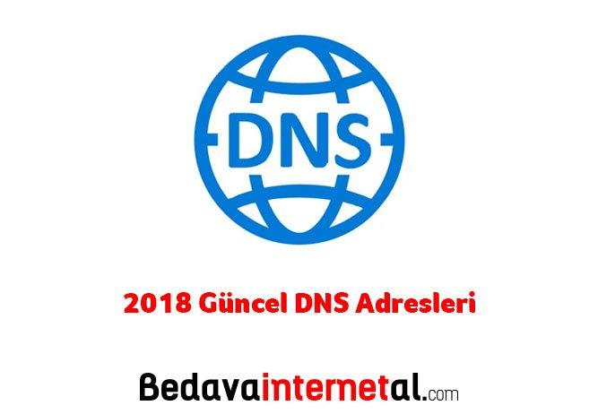 2019 DNS Adresleri