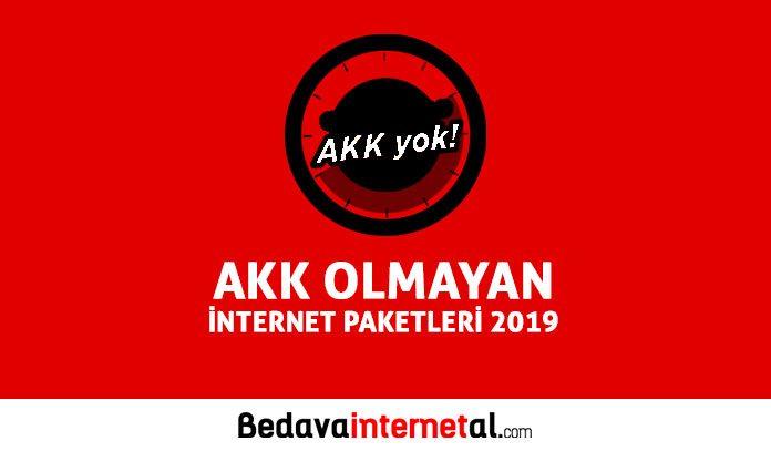AKK Olmayan İnternet Kampanyaları
