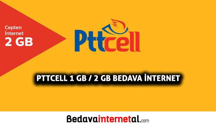 Pttcell Bedava internet