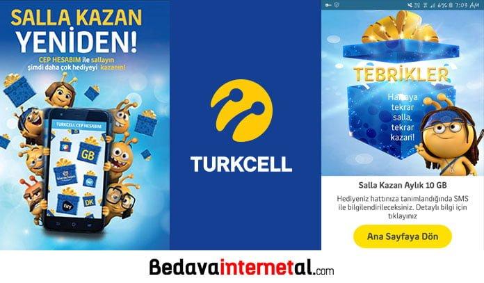 Turkcell salla kazan 2019
