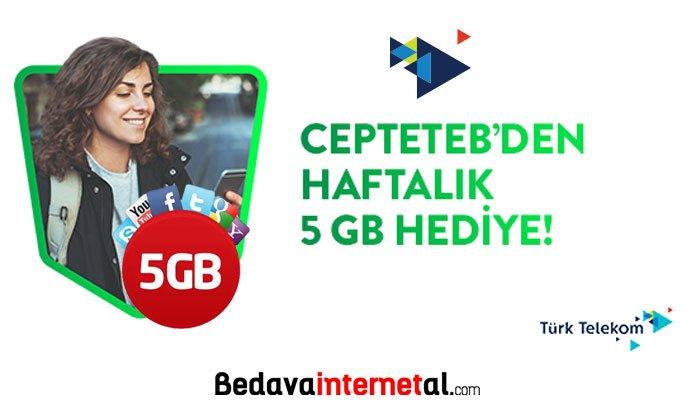 Türk Telekom 5 GB internet