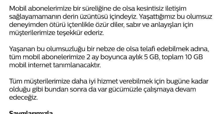 türk telekom deprem kesintisi