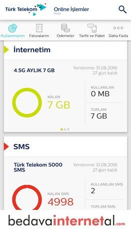 Türk Telekom En Uzun Gece Bedava internet