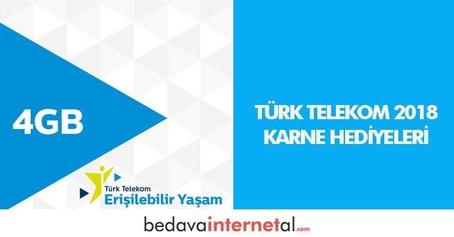 Türk Telekom Karne Hediyeleri