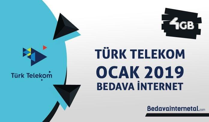 Türk Telekom Ocak 2019 Kampanyaları