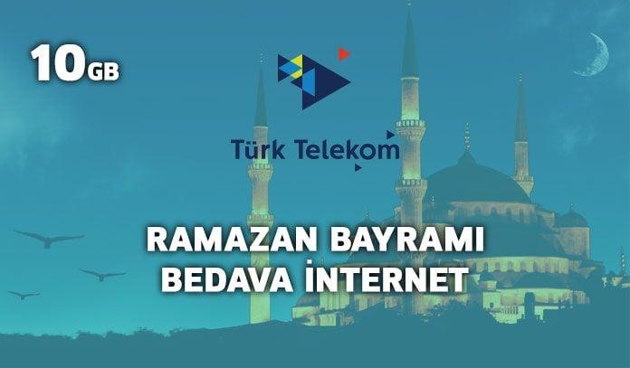 türk telekom ramazan bayramı hediyesi 2019