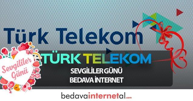 Türk Telekom Sevgililer Günü Bedava internet