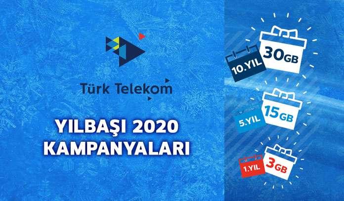 türk telekom hediye internet paketleri 2020