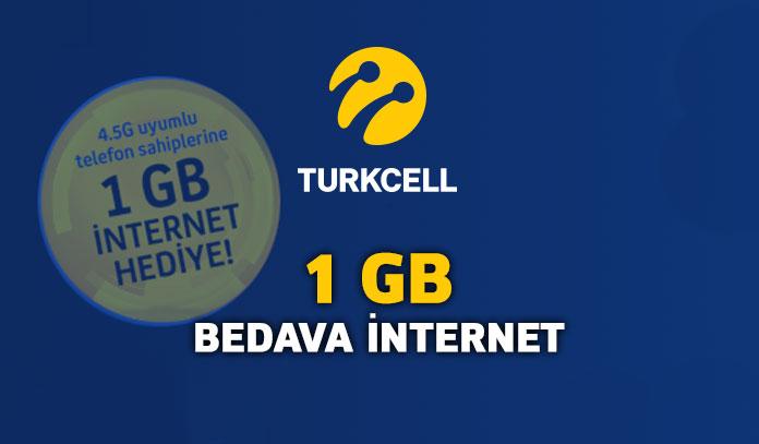 turkcell hediye internet kampanyası