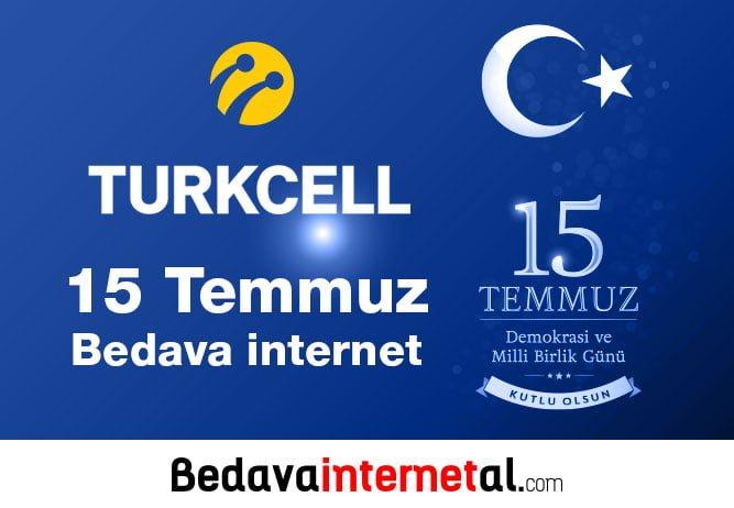15 Temmuz Bedava internet