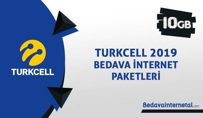 Turkcell 2019 bedava internet