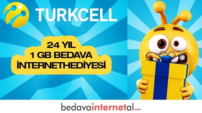 Turkcell 24 Yaş Hediyesi