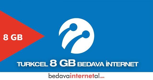 Turkcell 8 GB internet