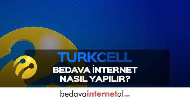 Turkcell Bedava İnternet Nasıl Yapılır