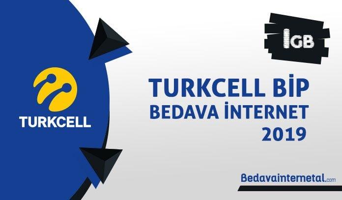 Turkcell bip 2019 bedava internet
