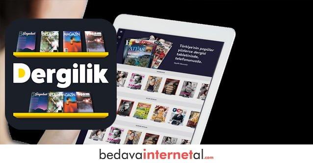 Turkcell Dergilik Bedava internet