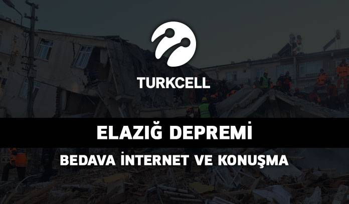 turkcell bedava internet ve konuşma paketi