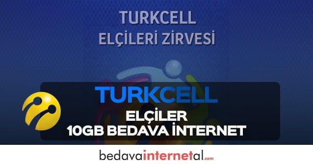 Turkcell Elçiler 10GB Bedava internet