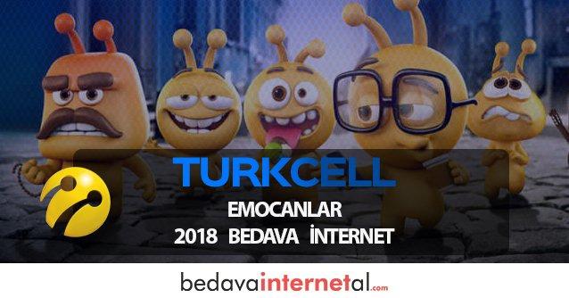 Turkcell Emocanlar 2019 Bedava internet