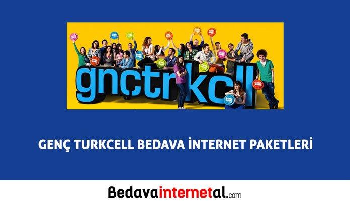 Turkcell GNÇ Bedava internet 2019