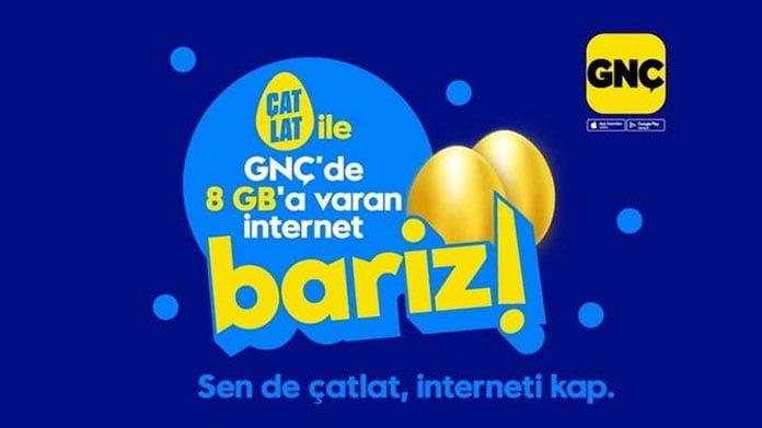 Turkcell gnç bedava internet paketi