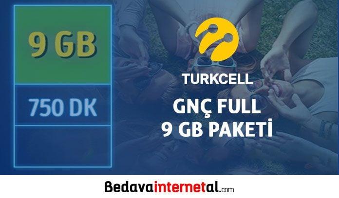 Turkcell GNÇ Full 9 GB