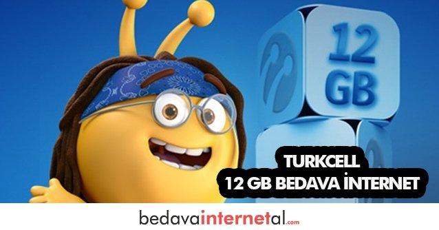 Turkcell Haydi Gel 12 GB Bedava internet