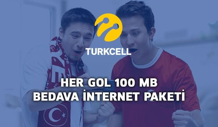 Turkcell Her Gol 100 MB internet