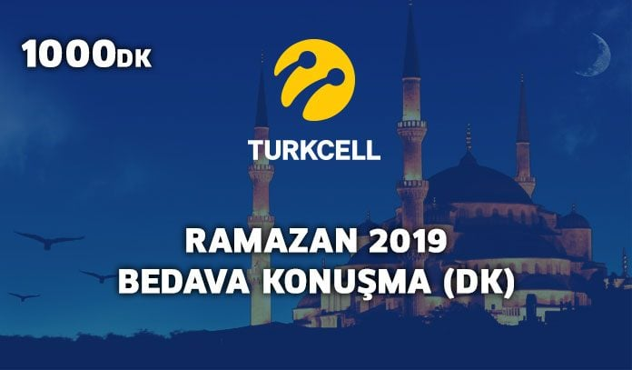 turkcell ramazan 2019 bedava konuşma
