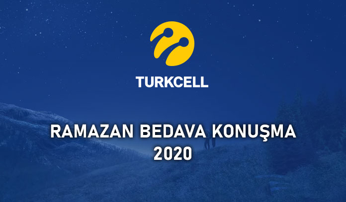turkcell ramazan bedava konuşma 2020