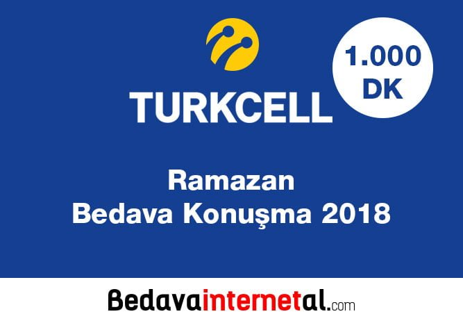 Turkcell Ramazan Bedava Konuşma 2019