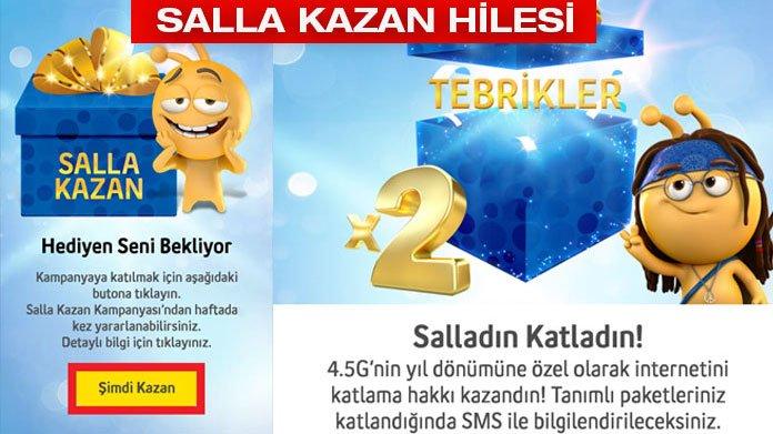 Turkcell salla kazan ek hak