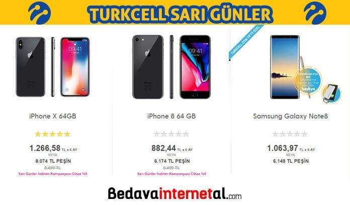 Turkcell sarı günler nedir