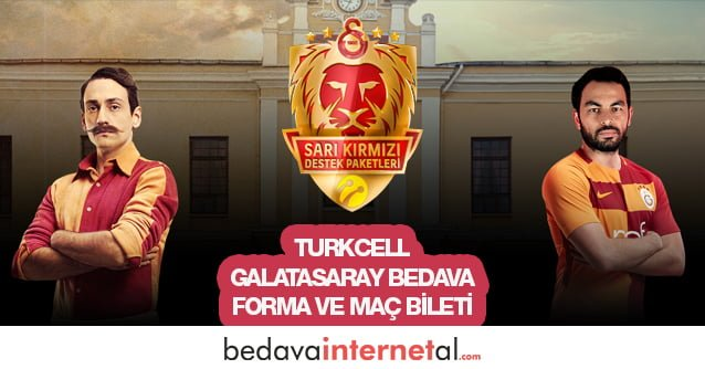 Turkcell Sarı Kırmızı Destek Paketleri