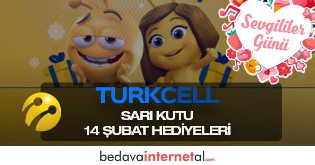 Turkcell Sarı Kutu 14 Şubat Hediyeleri