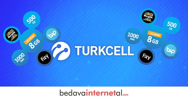 Turkcell Sınırsız Bedava internet