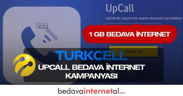 Turkcell UpCall Bedava internet