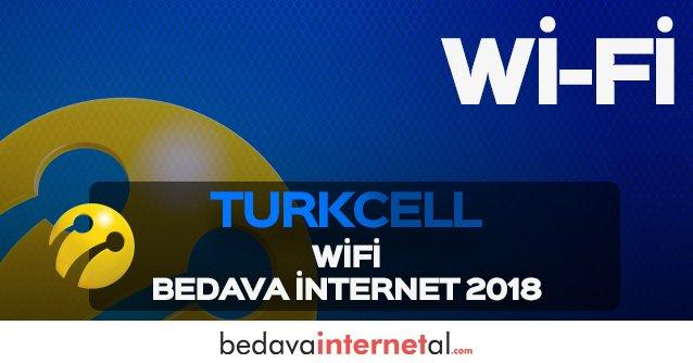 Turkcell Wifi Bedava internet