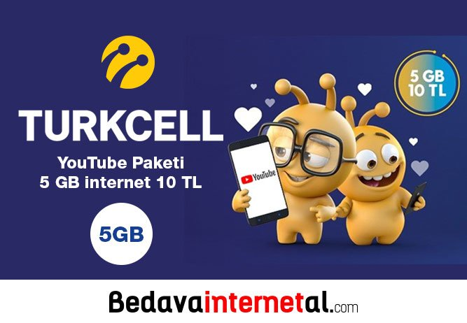 Turkcell YouTube Paketi 2018