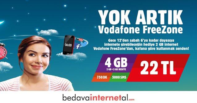 Vodafone Freezone Uygun Paketleri
