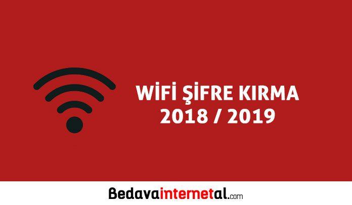 Wifi şifre kırma 2019